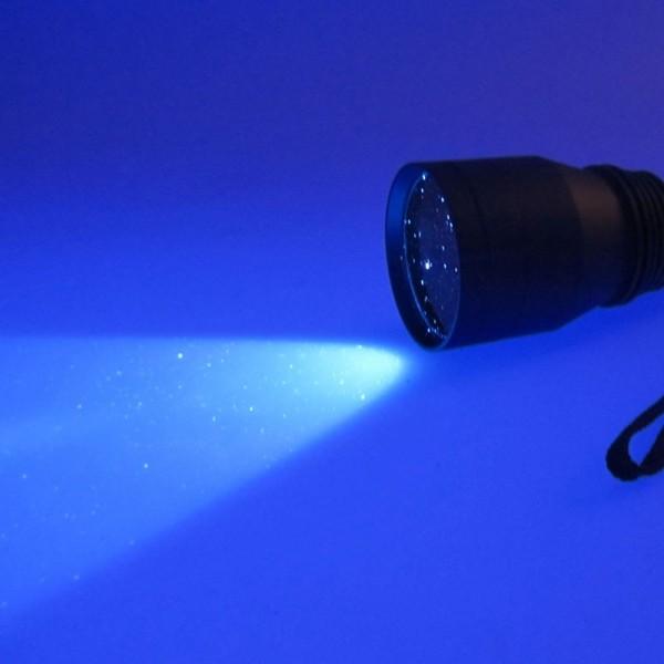 Linterna de inspección ultravioleta