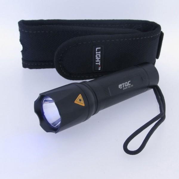 Linterna ultravioleta de bolsillo