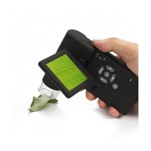 Microscopio USB con pantalla LCD