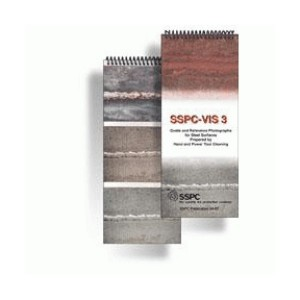 SSPC VIS 3 Pictorial surface standard hand/ power tool