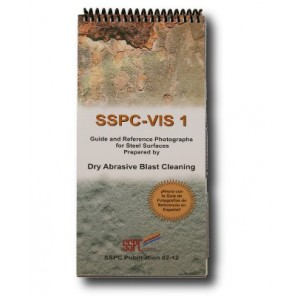SSPC-VIS 1 Estándar fotográfico chorreado abrasivo seco