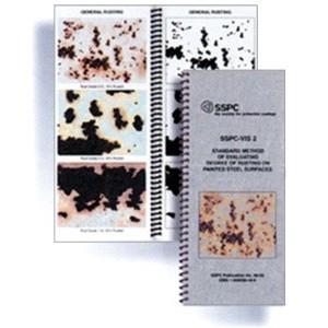 SSPC-VIS 2 Método estándar para evaluar el grado de oxidación en las superficies de acero pintado