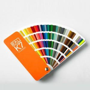 Colección de color RAL CLASSIC