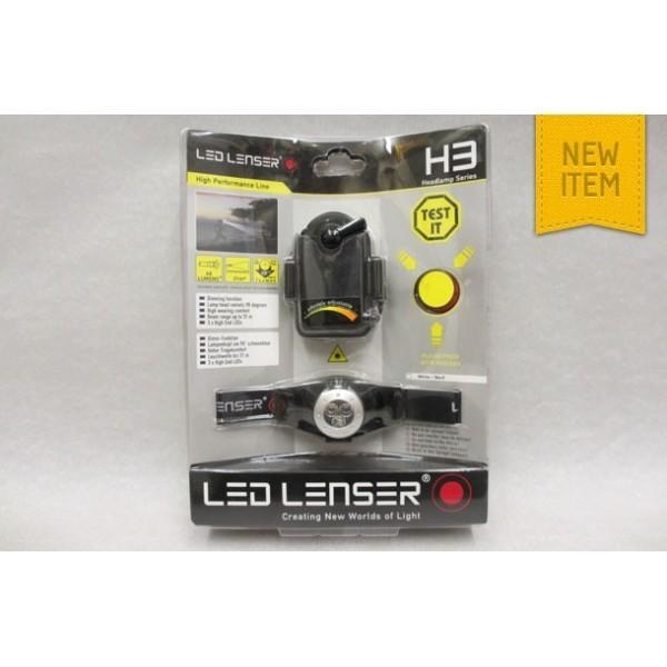 Linterna Led Lenser H3