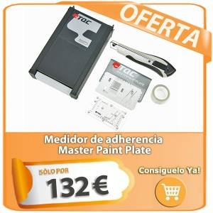 Medidor de adherencia Master Paint Plate
