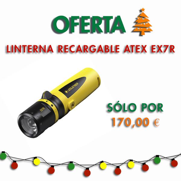 Linterna Recargable ATEX EX7R