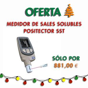Medidor de Sales Solubles Positector SST