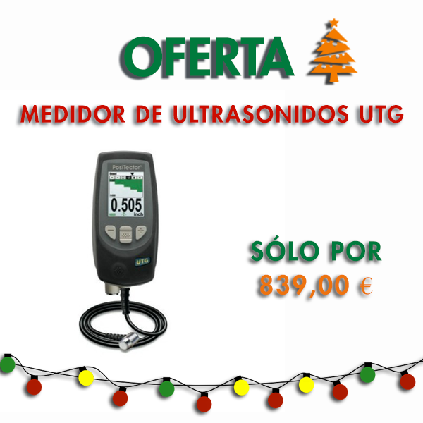 Medidor de Ultrasonidos UTG
