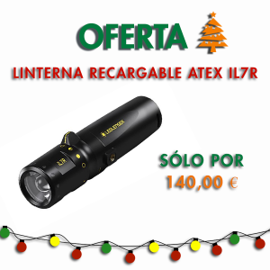 Rechargeable Flashlight ATEX iL7R