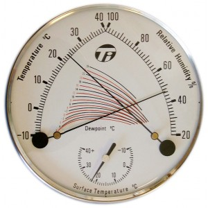 Dewmag Magnetic Thermo - Hygrometer