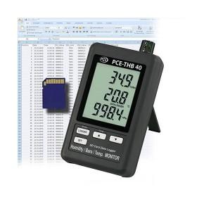 Termohigrómetro y Barómetro THB 40