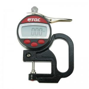 Micrómetro para cinta réplica digital